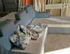 转角布艺沙发,3米9宽1米8,。2米6宽1米6,两