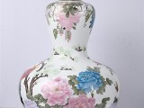 锦绣中华釉下五彩锦鸡葫芦瓶 具有极高艺术收藏价值