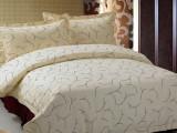 喜牌宾馆酒店客房床上用品布草 全棉印花套件被套 厂家直销 定制