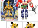 变形玩具之超变金刚 变形系列黄蜂/擎天柱(两款混装) 高66CM