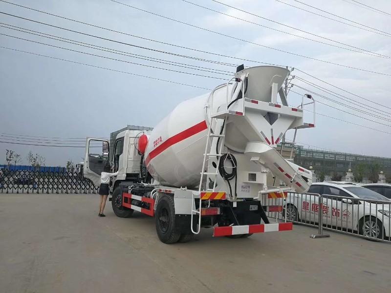 随州8方单桥搅拌车 混凝土搅拌运输车多少钱