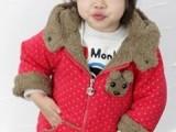 2012厂家直销新款小熊童棉衣 可爱超值童棉衣 秋冬童外套