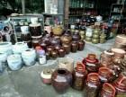 广州花都区酒缸酒坛菜坛酒瓶酒罐醋坛出售10斤至1000斤
