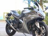 全新大排量350小忍者摩托车跑车战隼250双缸水冷电喷200大型地平线趴赛可上牌