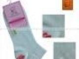 老人头夏袜2545女士休闲运动袜短袜娄空纯棉船袜批发成人袜子