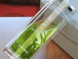 西安品牌玻璃杯批发 思宝牌高山流水经典款式泡茶双层防烫