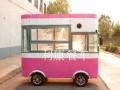 山东德州餐车定制中心专业定制各种餐车电动四轮小吃车