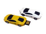 兰博基尼优赛车模型U盘 塑胶小汽车USB移动存储创意礼品批发定制