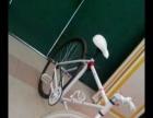 死飞自行车。