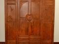 缅甸花梨衣柜门牧丹图案图片
