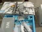 9成新全套WII游戏机转让,箱说齐全,全套配件,送拷满游戏16G
