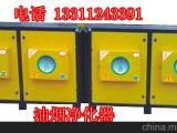 北京通州餐饮饭店烧烤油烟净化器 无烟烧烤车