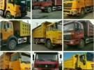 鄂尔多斯工地完工,急售100多辆后八轮自卸车4年10万公里6万