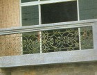 成都温江千禧河畔铁艺阳台栏杆飘窗护栏