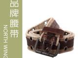 2012新款 编织 帆布腰带 厂家直销 外贸原单 EF109