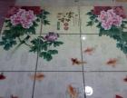 青花瓷艺术瓷砖建材背景墙加盟 地板瓷砖
