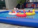 杭州大型充气水池水上滚筒手摇船道具出租