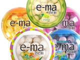 日本进口零食品UHA 悠哈e-ma 润喉糖  味觉糖 33g