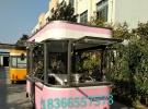 马路边的小吃美食一体车 流动房车 多功能流动厨房8000元