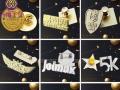 专注金属礼品设计定制 手机扣 吊饰 徽章 纪念章等