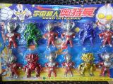 140超人奥特曼12只装 吸板玩具 澄海玩具 咸蛋超人打怪兽宇宙