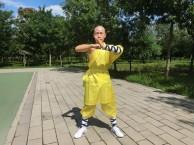小和尚也来练搏击综合格斗