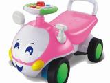 SM215440全网火爆热销多功能粉红色智能对话甲虫婴儿助步车学