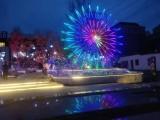 杭州燈光節制作出租,樹木亮化布展
