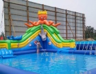 天蕊游乐 儿童蹦蹦床大型游乐设备充气滑梯水上乐园水滑梯支架水