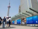 上海陆家嘴世纪连廊灯箱广告位