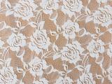 多色可选 新款优质大玫瑰蕾丝网纱针织网眼面料 服装面料