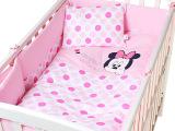 丽婴房迪士尼新款新生儿床品套件儿童全棉床上用品七件套婴儿用品