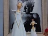 家居裝飾樹脂工藝品 母女小娃娃家居擺件 商務擺件