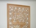 东阳椴木木雕装饰画转让
