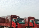 低价出售解放单桥6.8米厢式货车仓栏2年6万公里8.8万