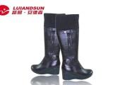 夏季特价保暖冬靴 真皮可走充电发热女鞋