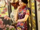 杭州手工织锦缎丝绸旗袍礼服出租出售量身定制纯手工制作贴心售后