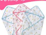 西松屋夏季新品 四层纱布婴儿抱毯包被 抱被新生儿包巾 单个价