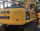 二手小松220挖掘机价格,小松22吨挖土机市场