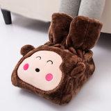 伊暖儿USB暖脚宝插电调温定时雪狐绒面料
