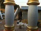 供应家居酒店装饰罗马柱子玻璃钢雕塑