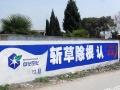 宜昌农村市场墙体广告制作户外喷绘写真招牌厂家直销