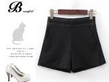 #A3 新品百搭女式休闲裤 欧美女装短裤纯色休闲裤 免费代理X8
