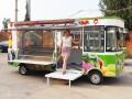 多功能小吃车 蔬菜水果售货车 流动早餐车 快餐烧烤车