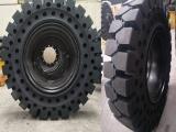 厦工中型叉车实心轮胎批发商825-15免充气