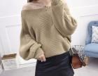 低价清货女式毛衣 短款套头羊毛衫厂家批发冬季上新款女装针织衫