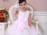 15夏女童装宝宝礼服裙品牌儿童连衣裙微信货源大童表演 一件代发