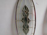 供應訂做17-28毫米厚雙面鋼化銅條鑲嵌工藝玻璃
