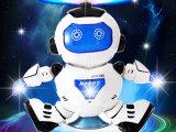 益尔乐跳舞电动机器人跳舞王360度旋转灯