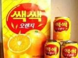 江苏总代 韩国食品乐天饮料橙汁乐天粒粒橙汁饮料